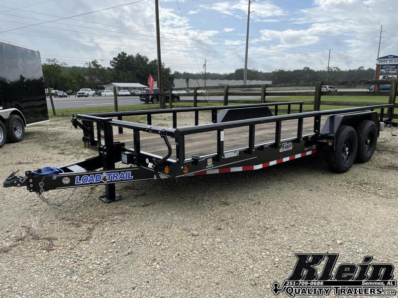 2021 Load Trail 83X20 Pipe Top Equipment Trailer