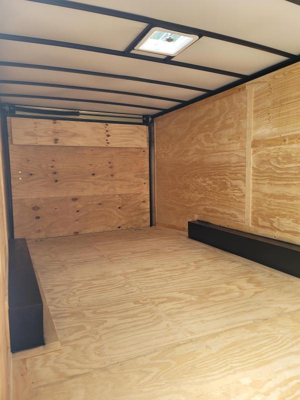 2021 Rock Solid Cargo 8.5x20 Tandem Carhauler Enclosed Cargo Trailer
