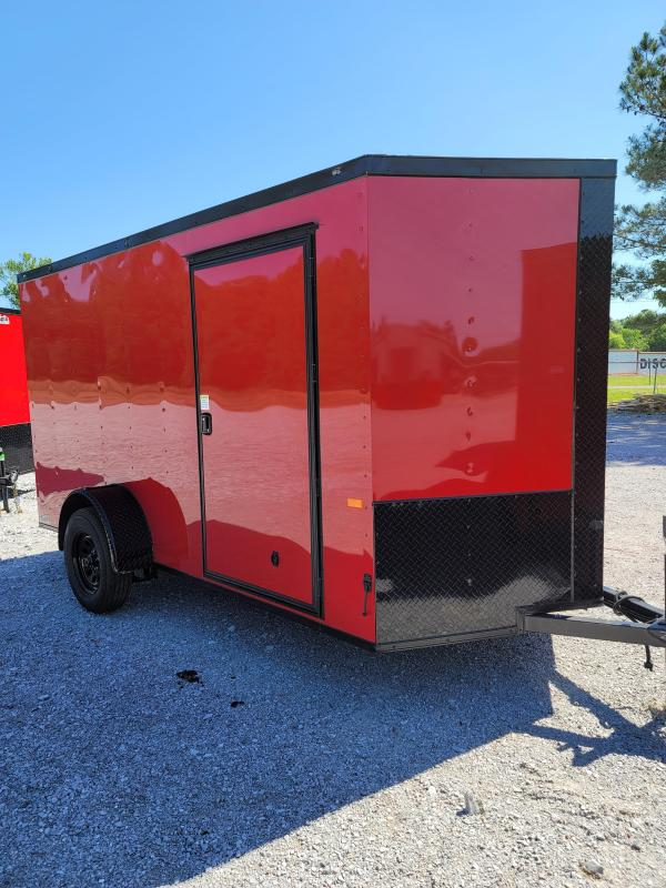 2021 Rock Solid Cargo 6X12 Single Axle Enclosed Cargo Trailer