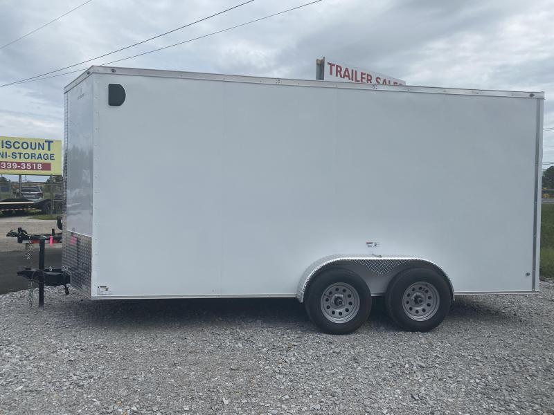 2022 NationCraft Trailers 7X14 Enclosed Cargo Trailer