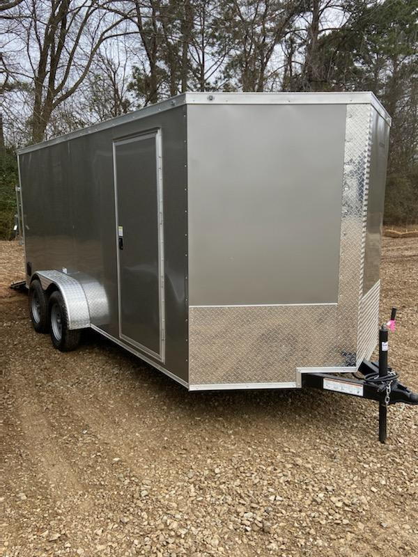 2021 NationCraft Trailers 7x14 Tandem Axle Enclosed Cargo Trailer