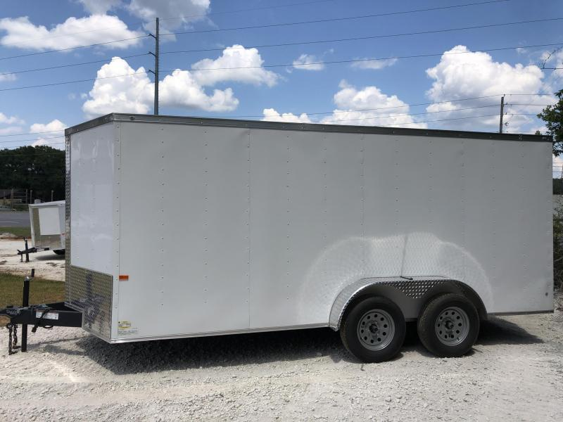 2021 Rock Solid Cargo 7X16 TA Enclosed Cargo Trailer