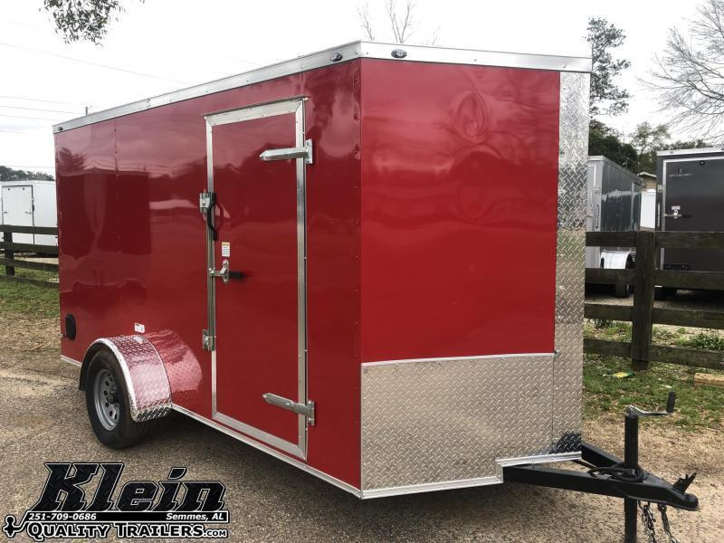 2021 Fast Cargo 6x12 Single Axle Enclosed Cargo Trailer