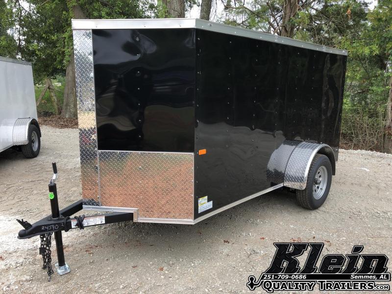 2021 Rock Solid Cargo 5X10 Enclosed Cargo Trailer