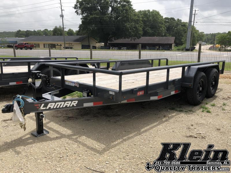 2020 Lamar Trailers 83X16 Equipment Trailer
