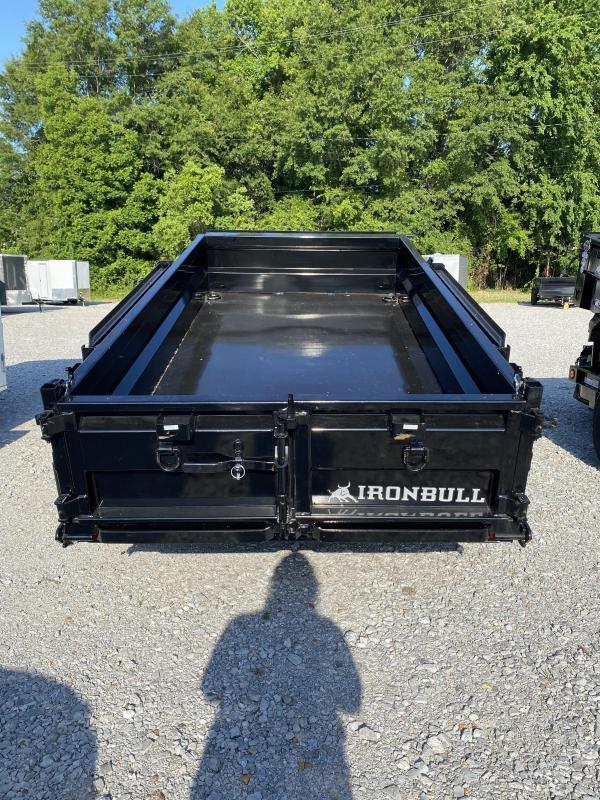 2021 Iron Bull 60x10 Tandem Axle Dump Trailer