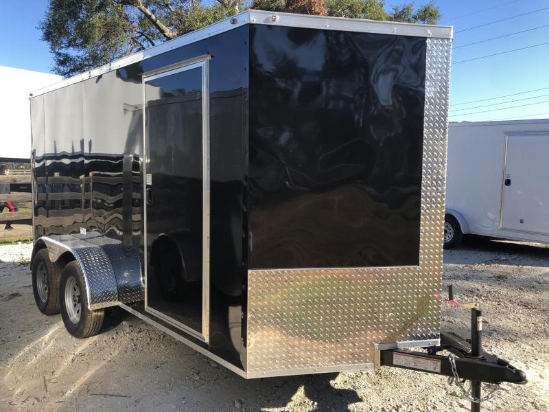2021 NationCraft Trailers 7X12 TA Enclosed Cargo Trailer