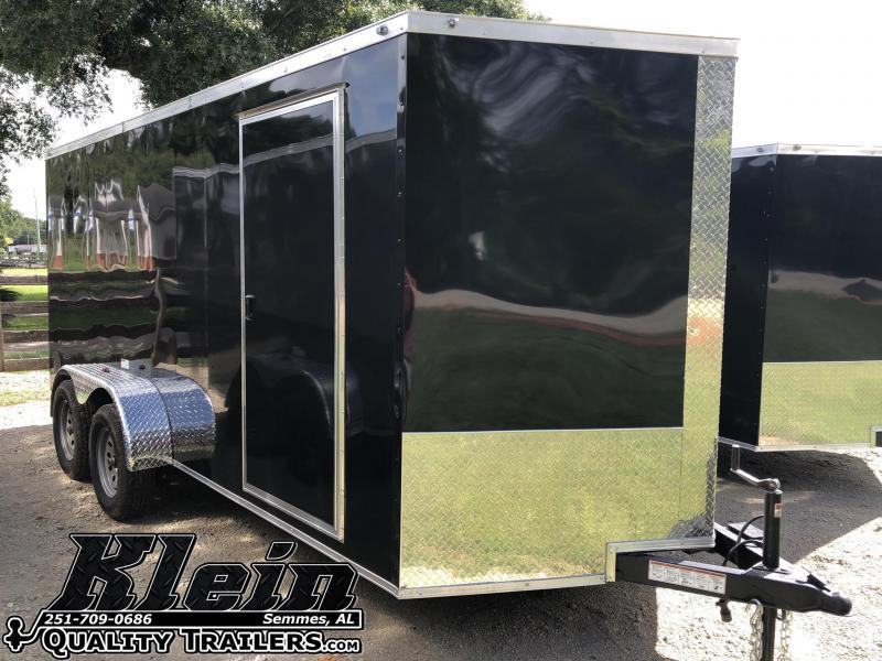 2020 NationCraft 7X14 Enclosed Cargo Trailer