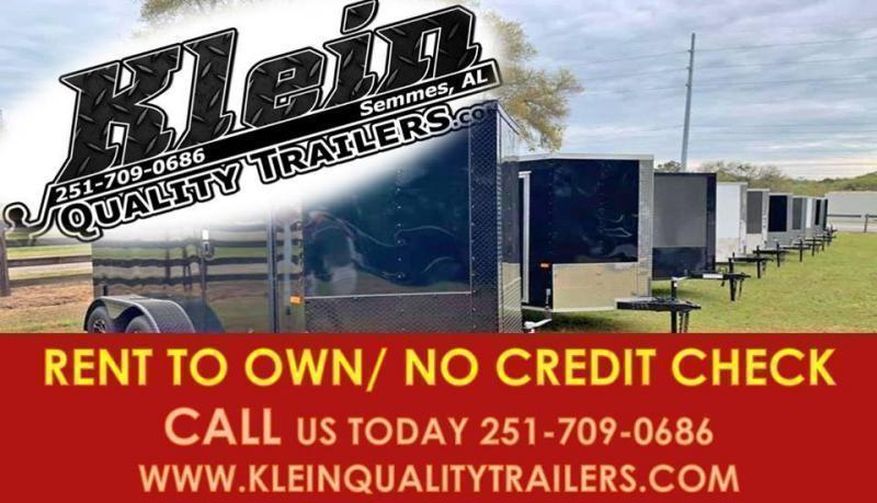 2021 NationCraft Trailers 7X12X7 TA Enclosed Cargo Trailer