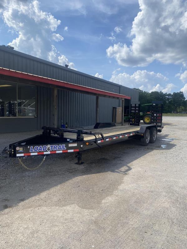 2021 Load Trail 82x24 Tandem Axle Equipment Trailer