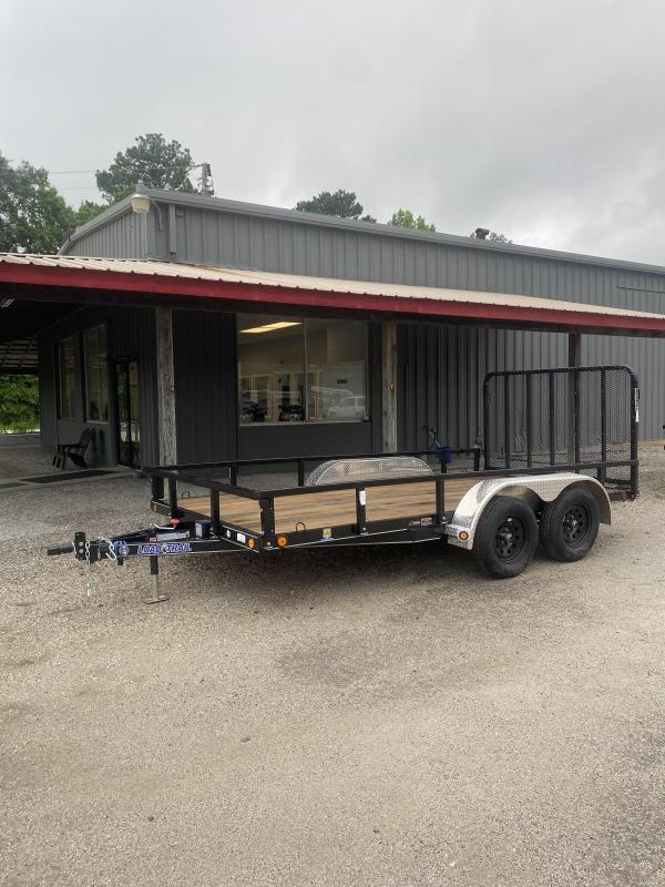 2021 Loadmaster Trailer Company 83x14 Tandem axle Utility Trailer