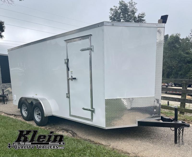 2021 Fast Cargo 7X16 TANDEM AXLE Enclosed Cargo Trailer