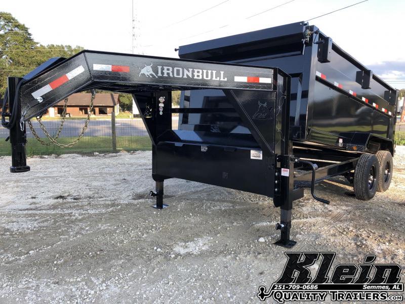 2021 Iron Bull 83X14X4 Gooseneck Dump Trailer