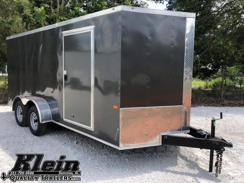2021 Rock Solid Cargo 7X16 Enclosed Cargo Trailer