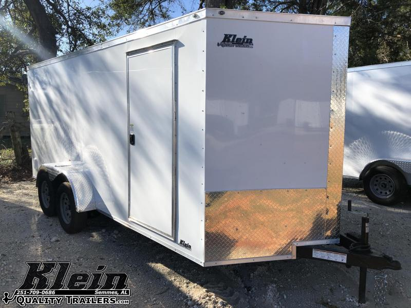 2020 NationCraft 7X16 Enclosed Cargo Trailer