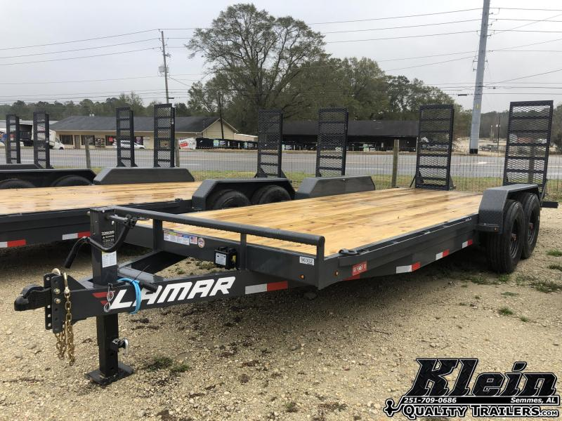 2021 Lamar Trailers 83X20 16K Equipment Trailer