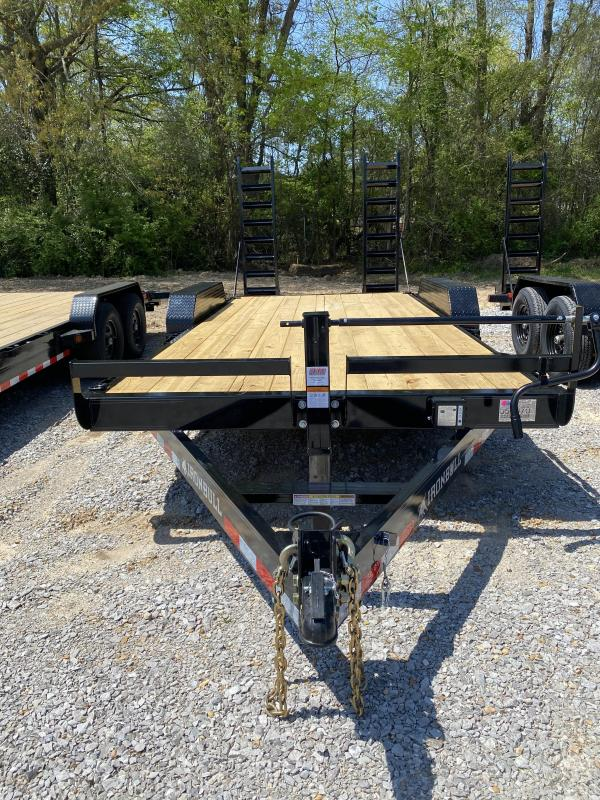 2021 Iron Bull 83x18 EQ Equipment Trailer