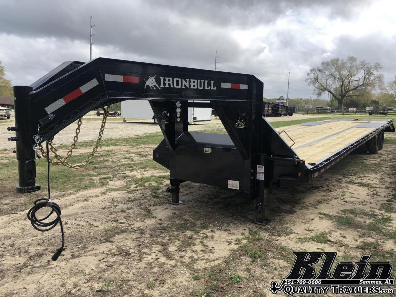2021 Iron Bull 102X40 Gooseneck Deckover Equipment Trailer
