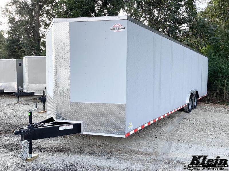 2022 Rock Solid Cargo 8.5X28 Enclosed Cargo Trailer