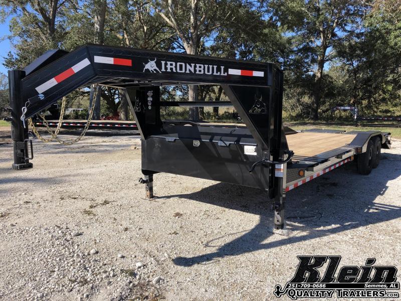 2021 Iron Bull 102X26 Equipment Trailer
