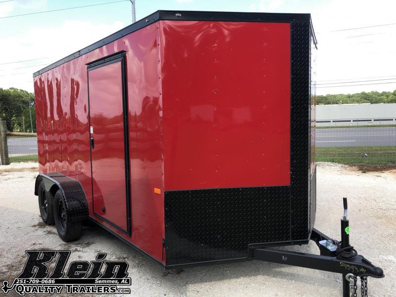 2020 Rock Solid Cargo 7X14 TA Enclosed Cargo Trailer