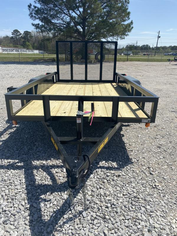 2021 Long Run 7X16 Tandem Axle Utility Trailer