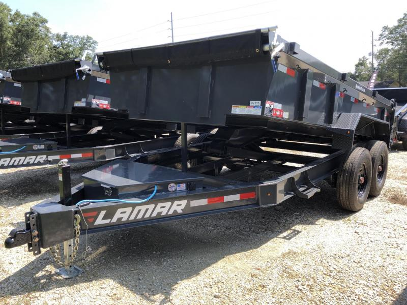 2021 Iron Bull 83X14X2 Dump Trailer