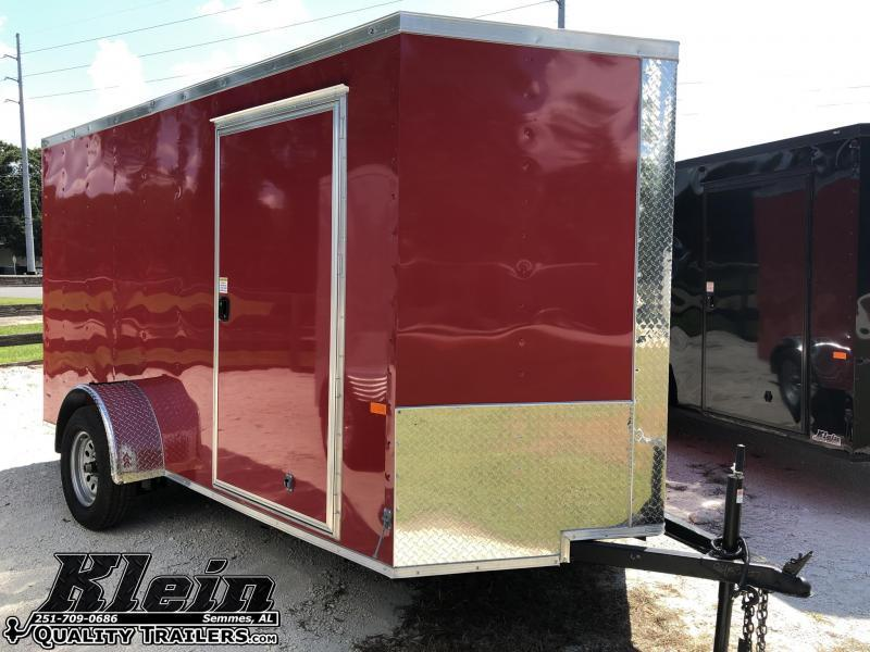 2021 Rock Solid Cargo 6X12 SA Enclosed Cargo Trailer