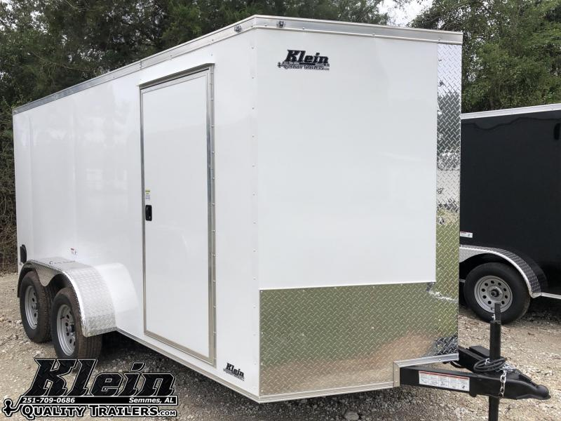 2021 Nationcraft 7X14 Enclosed Cargo Trailer