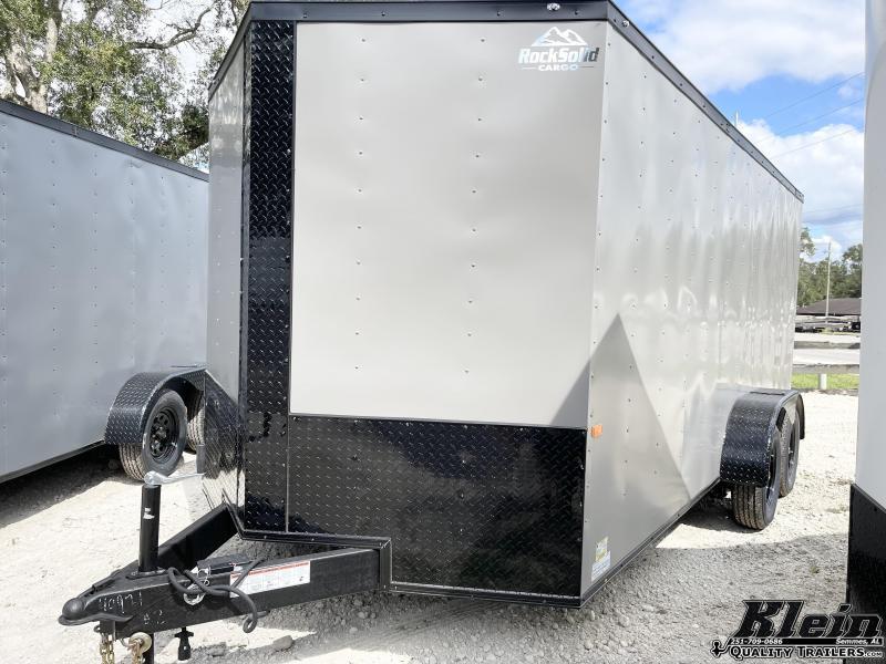 2022 Rock Solid Cargo 7X16 Enclosed Cargo Trailer