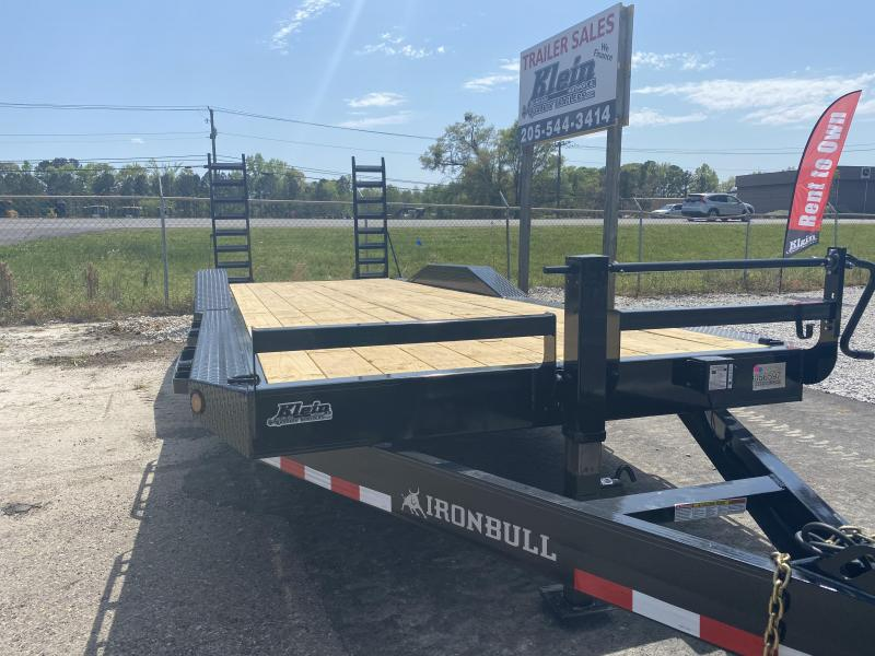 2021 Iron Bull 102X24 Equipment Trailer