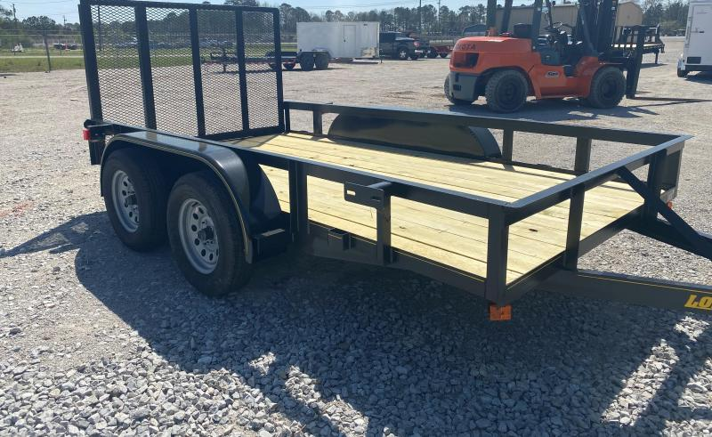 2021 Long Run 6'4X12 Tandem Axle Utility Trailer