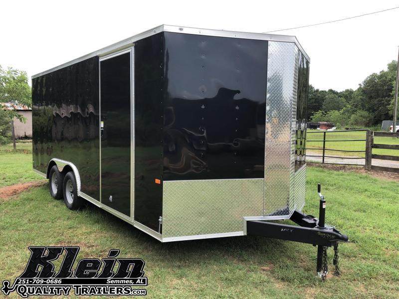 2020 Rock Solid Cargo 8.5X18 TA Enclosed Cargo Trailer