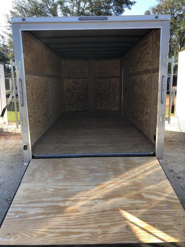 2021 NationCraft Trailers TANDEM AXLE 7X14 Enclosed Cargo Trailer