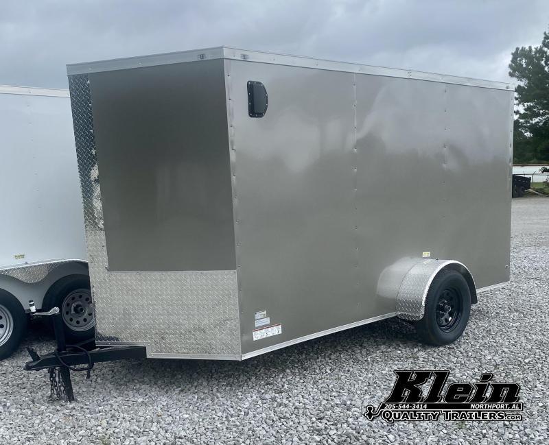 2021 Fast Cargo 6x12 Single Axle Enclosed Cargo Trailer