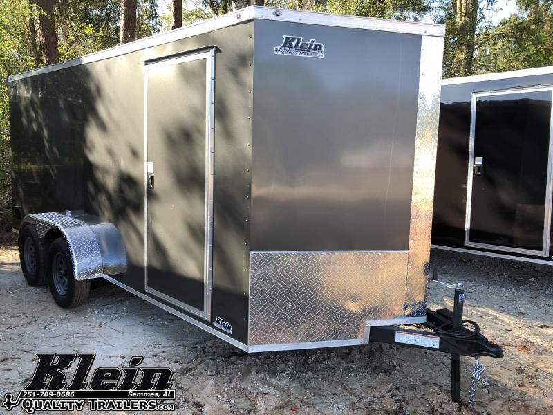 2021 NationCraft 7X16 Enclosed Cargo Trailer
