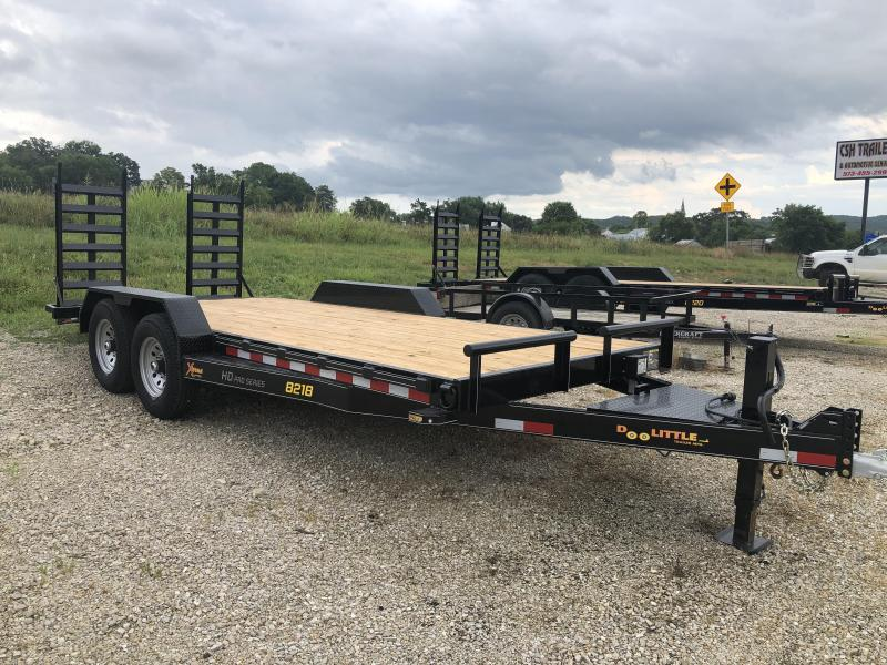 2020 Doolittle Trailers 82x18 Tandem Axle Utility
