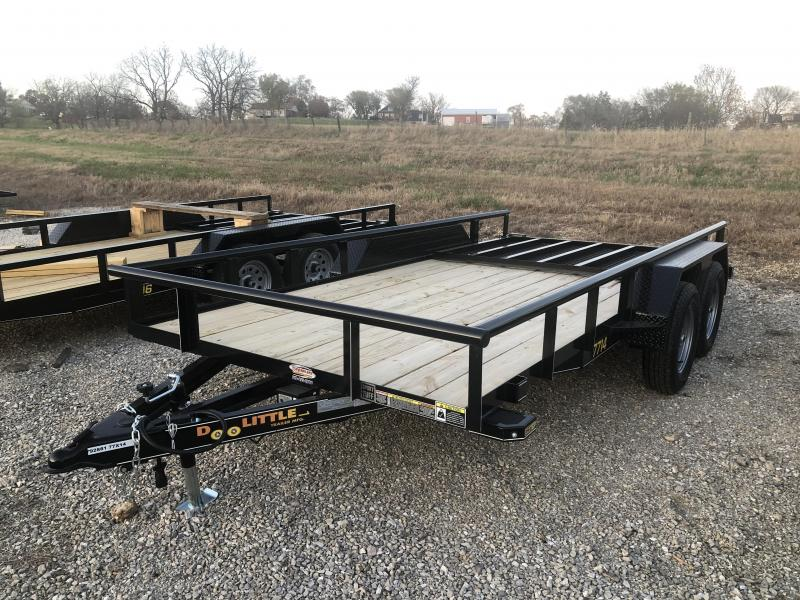 2021 Doolittle Trailers 77x14 Tandem Axle Utility