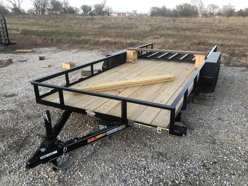 2021 Doolittle Trailers 77x16 Tandem Axle Utility