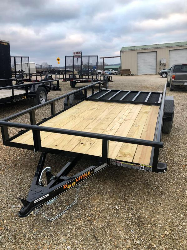 2021 Doolittle Trailers 77x14 Single Axle Utility