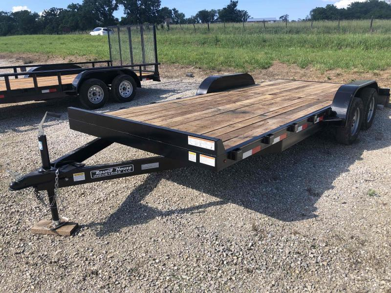 2021 Round House Industries 84x18 Tandem Axle Utility