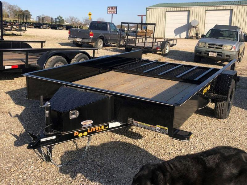 2021 Doolittle Trailers 84x12 Single Axle Utility