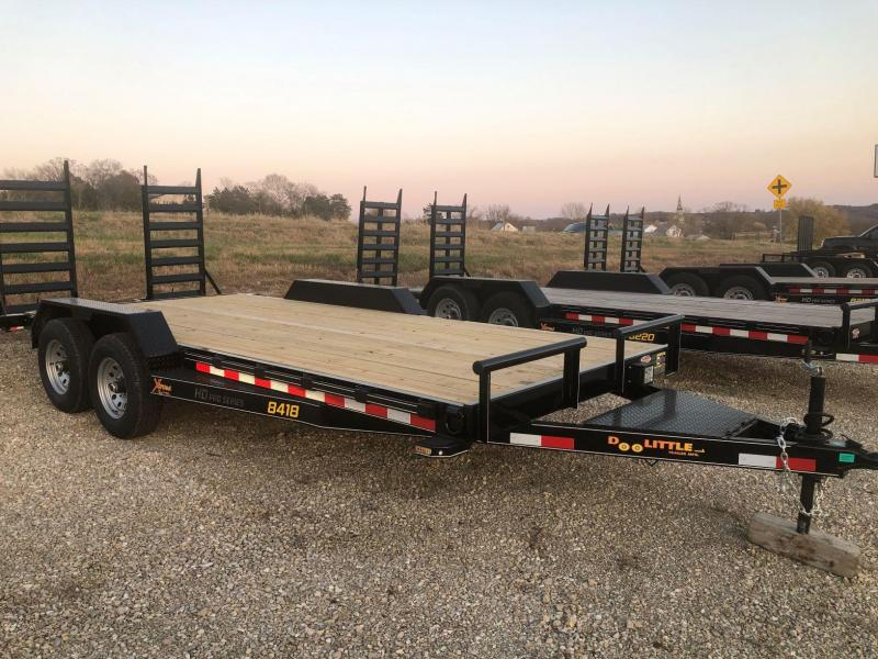 2021 Doolittle Trailers 84x18 Tandem Axle Utility