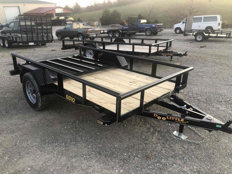 2020 Doolittle Trailers 66x10 Single Axle Utility
