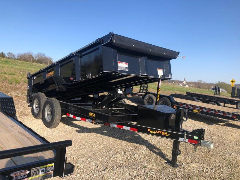 2021 Doolittle Trailers 82x14 Masterdump