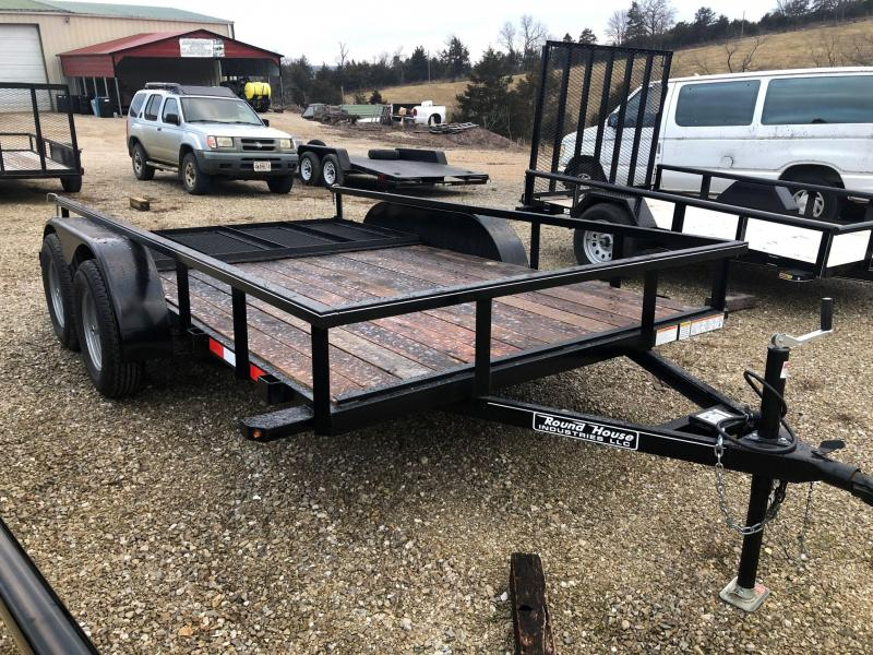 2021 Round House Industries 77x12 Tandem Axle Utility