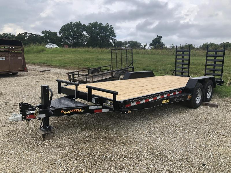 2020 Doolittle Trailers 82x20 Tandem Axle Utility