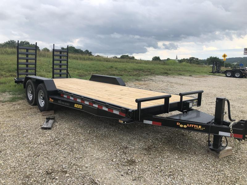 2021 Doolittle Trailers 82x20 Tandem Axle Utility