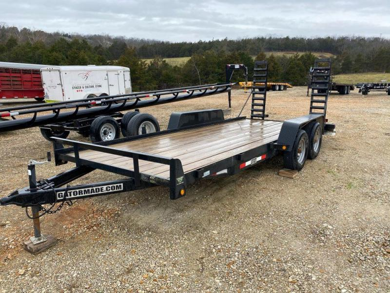 Used 2014 Gatormade 84x18 Equipment Trailer