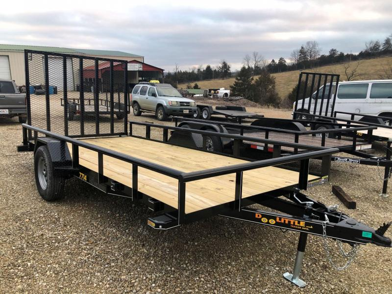 2020 Doolittle Trailers 77x14 Single Axle Utility